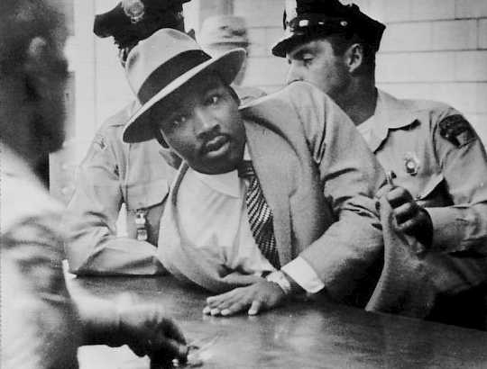 Martin Luther King, Jr. Montgomery menangkap 1958