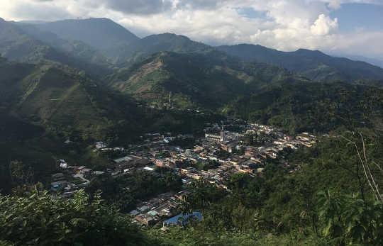 Risaralda heeft een unieke geografie die perfect is voor koffieproductie maar kwetsbaar is voor klimaatverandering.