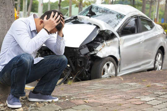 Even when an individual is physically unharmed after a car crash, the traumatic event can still cause chronic pain.
