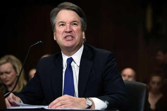 hvordan skal vi dømme folk for deres tidligere moralske svikt: Brett Kavanaugh gir sin åpningserklæring før senatdommens domstolsutvalg.