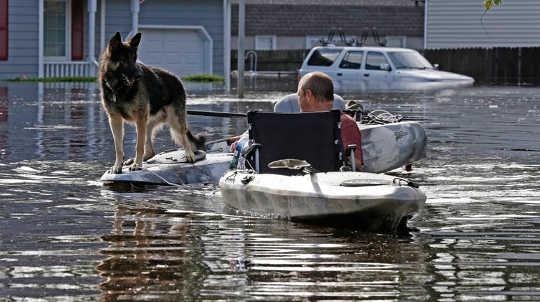 Mengembangkan kepercayaan setelah bencana dan tantangan setiap hari: Banyak orang Utara Carolinians menolak untuk mengungsi ketika badai Florence mendekat. Apakah itu karena ketidakpercayaan dalam peringatan otoritas?