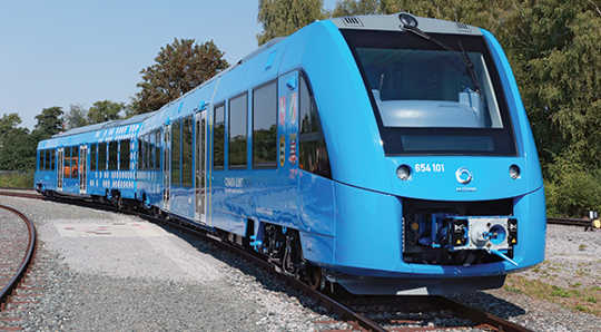 Der Coradia iLint begann mit 2018 den Transport von Wasserstoff in Deutschland. (Wasserstoffbrennstoff ist wieder im Energiebild)