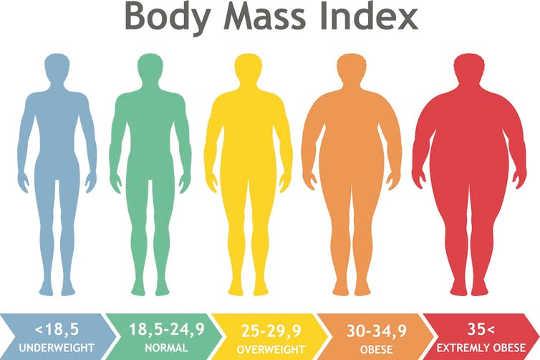 मोटापा के कई प्रकार हैं जो आपके स्वास्थ्य के लिए महत्वपूर्ण हैं: बॉडी मास इंडेक्स