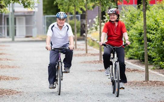 ¿Cuánta actividad física es suficiente en la edad avanzada?