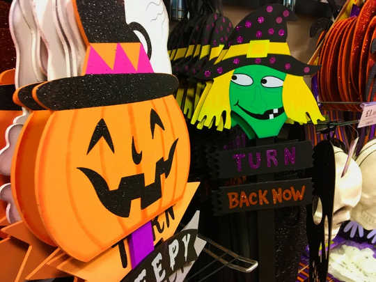 Strange days at the supermarket -- Halloween: Turning to the supernatural to work through our anxieties