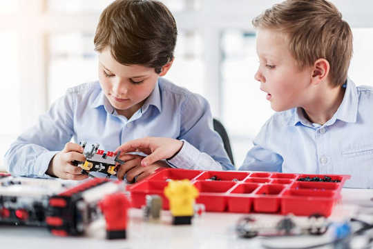 Constructive play: Play based learning can set your child up for success at school and beyond