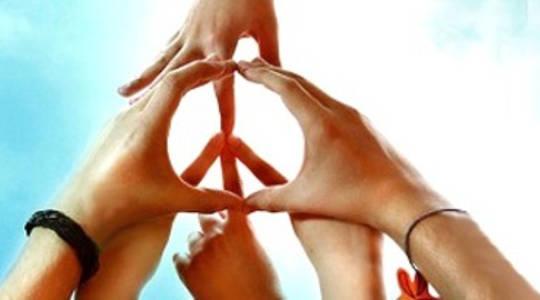 Frieden zu erlangen muss die Ursache jedes Einzelnen sein