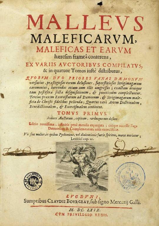 Эволюция средневековой ведьмы и почему она обычно женщина: справочник охотника на ведьм.