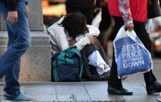 We have the wealth to ensure a sustainable future but too many people are being left behind