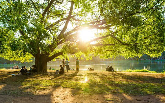 How Green Spaces Help Combat Loneliness