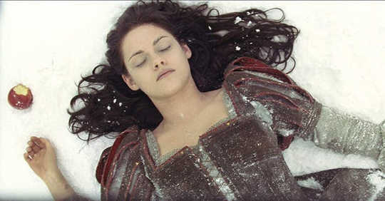 Fairy tale tinged with horror: Kristen Stewart in Snow White and the Huntsman.