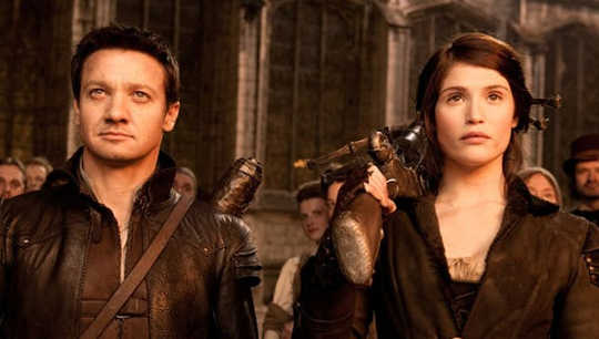 Jeremy Renner and Gemma Arterton as Hansel and Gretel. (Disney nutcracker is the latest movie to explore the dark side of fairy tales)