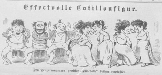 Karikatur dari Kikeriki majalah satir. (Bagaimana stereotaip anti-semit dari abad yang lalu gema hari ini)