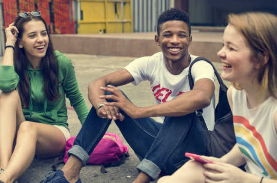 Young People Value Diversity, Humor and Honesty In Their Friendships