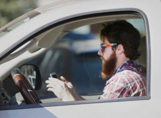 The more we have access to on our phones, the more people drive distracted.