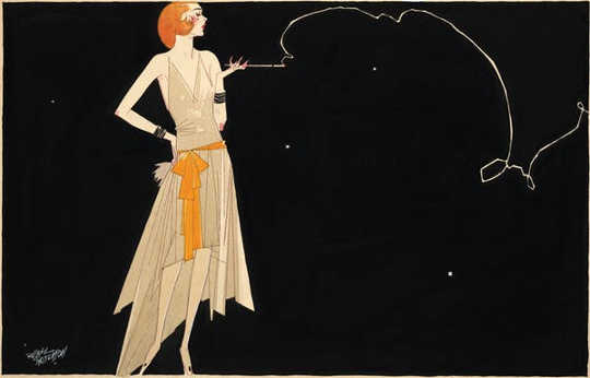 Flappers listened to jazz, drank alcohol, smoked cigarettes and danced the Charleston.