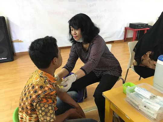 Di Balik Gagalnya目标Cakupan Imunisasi MR Di印度尼西亚