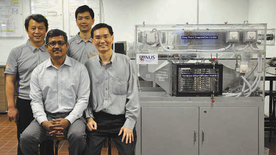 Water-based Air Conditioner ini Cools Without Harmful Chemicals