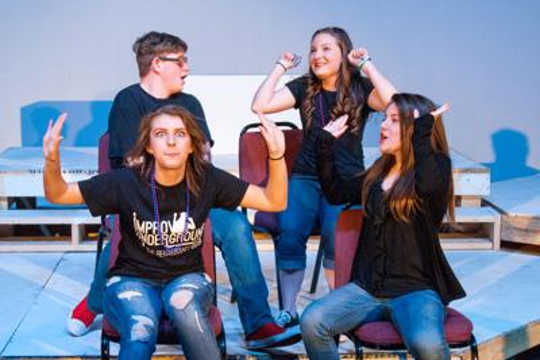 How Improv Theater Training May Curb Anxiety For Teens