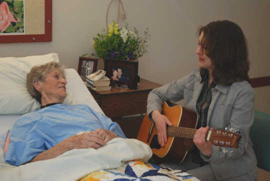 Music Lifts Well-being For People In Palliative Care