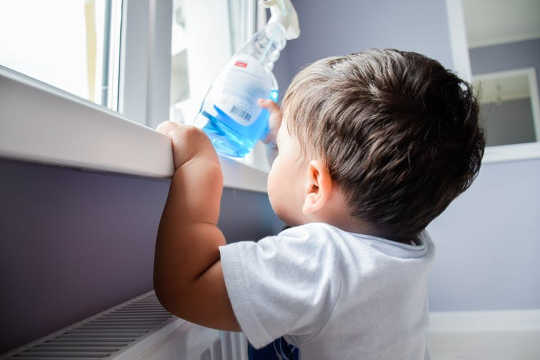 Household Cleaning Products Could Be Making Children Overweight