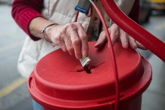 How The Salvation Army's Red Kettles Became A Christmas Tradition
