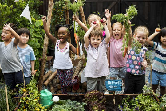 How To Teach Kids Where Food Comes From
