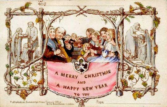 クリスマスシーズン左ビクトリア朝の店員は生きているより死んでいる