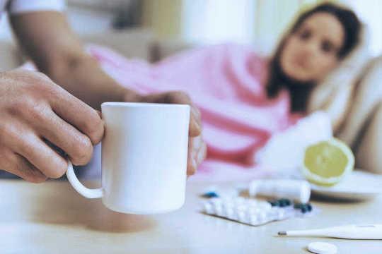 一个强大的免疫系统帮助病房避免感冒和流感,但这不是唯一的因素