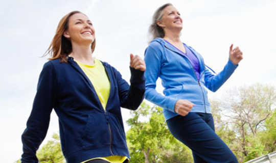 Walking Gives Older Women's Hearts A Health Boost