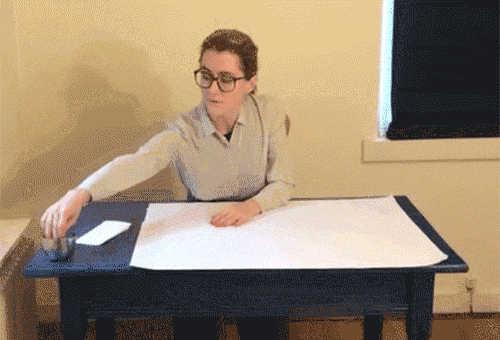 Pappersklipp (kan en robot hålla ett skrivbordsbrev?)