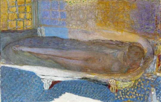 Pierre Bonnard, Nude in the Bath (Nu dans le bain) (alasan mengejutkan kami menyukai seni)