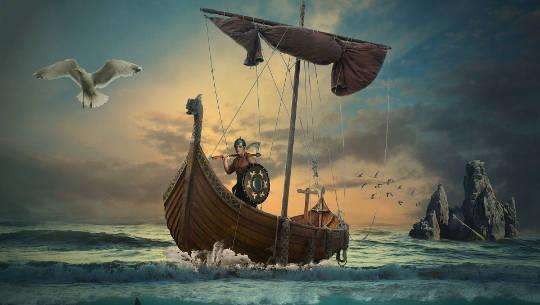πλοίο βίκινγκ