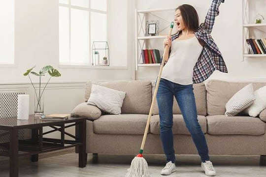 How To Clean Your Way To Happiness