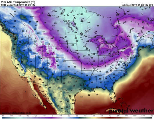 極寒極渦が地球温暖化とどのように関連しているか