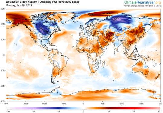 Hur Frigid Polar Vortex Blasts är anslutna till global uppvärmning