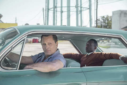 The Movie Green Book Høydepunkter Problemene med å kjøre mens svart