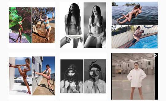 Frauen können ein positives Körperbild aufbauen, indem sie kontrollieren, was sie auf Social Media anzeigen