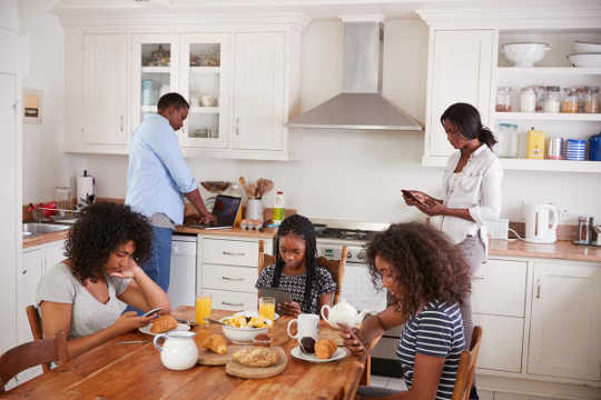 How Mobile Devices Have Changed Family Time