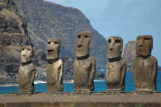 Why Did Easter Islanders Build Statues Where They Did?