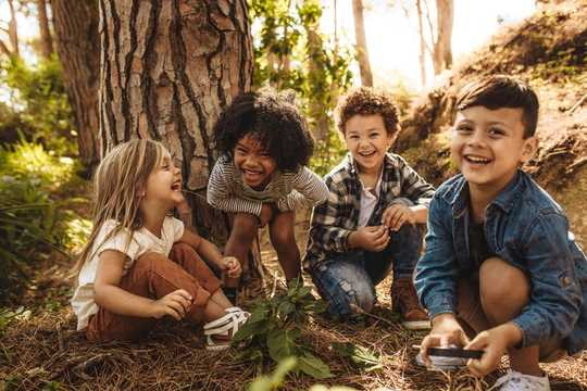 How Climbing Trees And Making Dens Can Help Children Develop Resilience