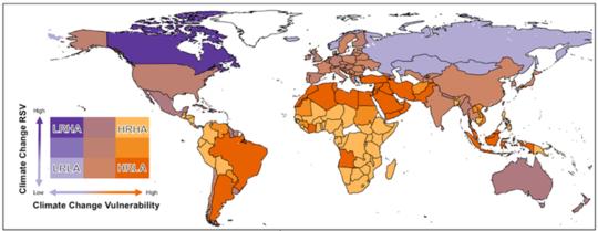 Google検索は、気候変動に関して人々が最も懸念している場所を明らかにします