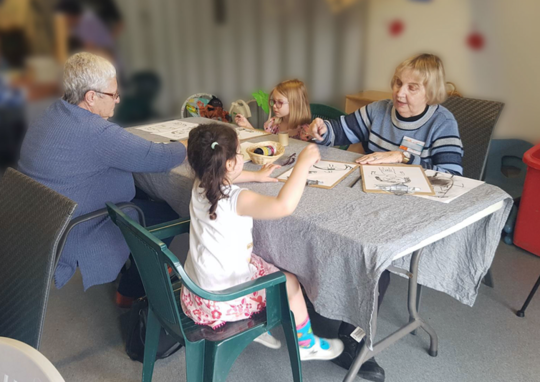 How Combining Childcare And Aged Care Has Social And Economic Benefits