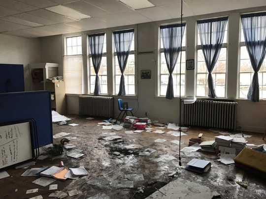 لماذا تضرب المدارس الإغلاق المجتمعات الريفية بشدة