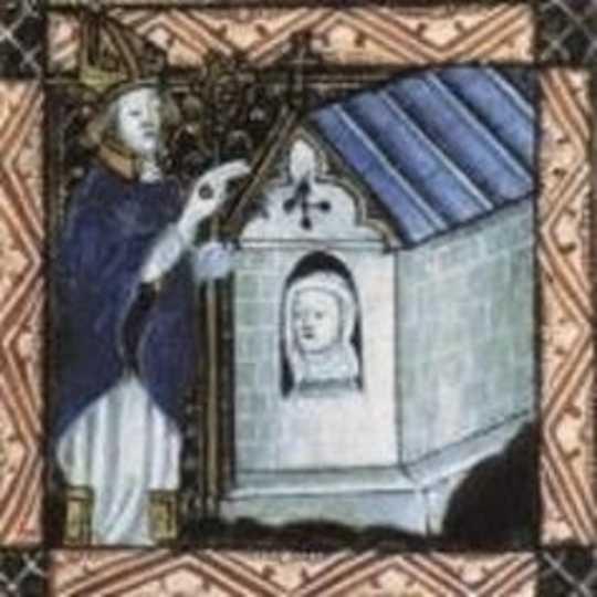 ハンドメイドの物語:抗議と中世の神聖な女性のシンボル