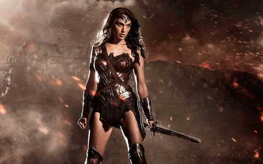 Wonder Woman und die alte Fantasie von Hot Lady Warriors