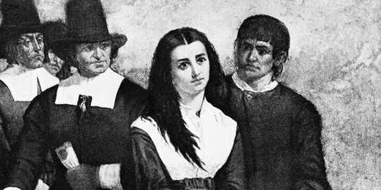 A maioria das bruxas são mulheres, porque as caça às bruxas eram todas sobre perseguir os impotentes