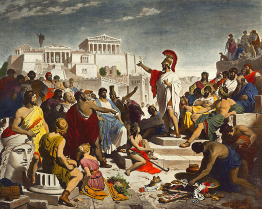 Hvorfor tyranni kan være det uunngåelige resultatet av demokrati