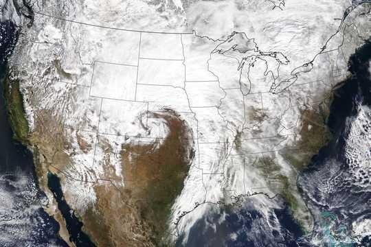 امریکہ کے عظیم میدانی علاقوں میں ایسا مہاکاوی موسم کیوں ہے