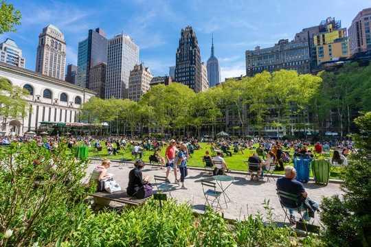 I parchi possono aiutare le città a combattere il crimine?